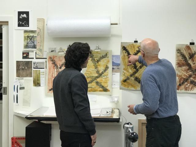 Peter Garnick with Theo Mantalvanos