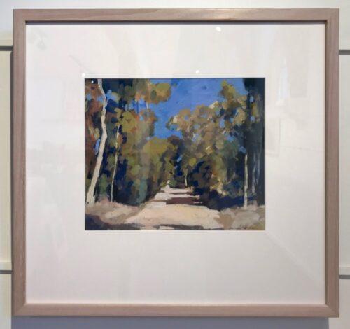 David Moore Roadway Castlemaine (framed)